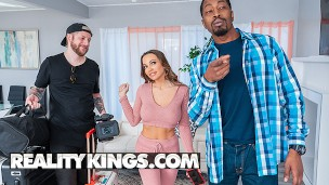 Reality Kings – Abigail Mac's Boyfriend Records Her Getting Fucked By Isiah Maxwell